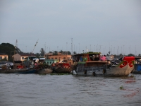 Delta du Mékong: Cantho-CHaudoc 3jours