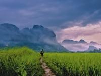 Vue panoramique du Laos 6 jours